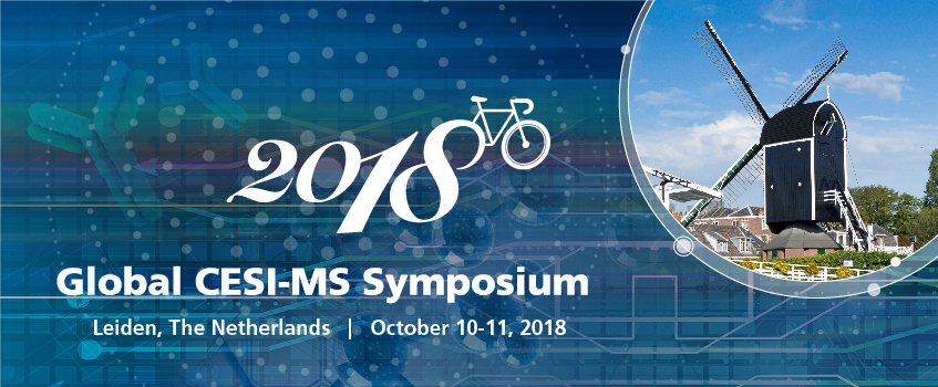 Come join us at the 2018 Global CESI-MS Symposium