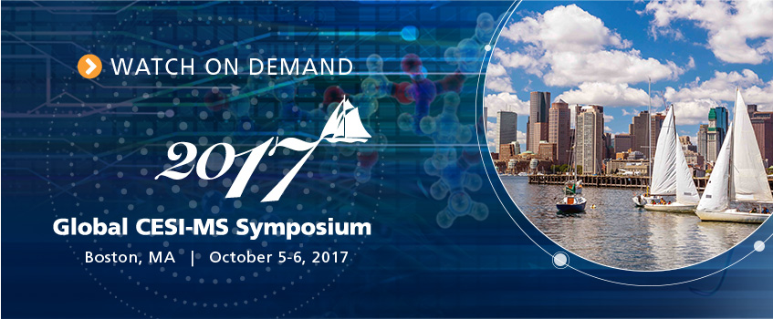 2017 Global CESI-MS Symposium