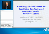 Automating Clinical LC-Tandem MS Quantitative Data Review