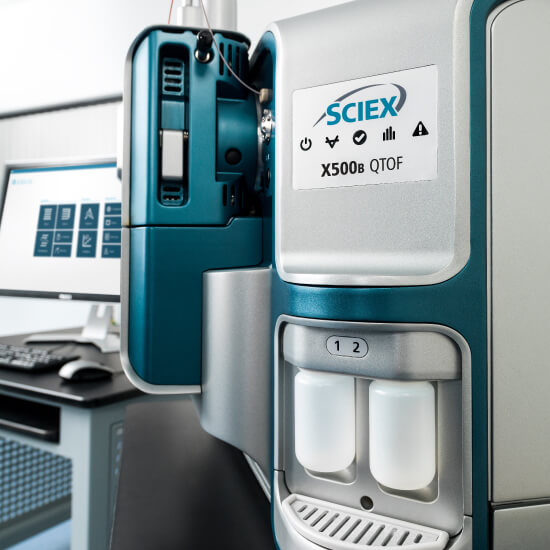 X500 QTOF Mass Spectrometer Systems, High Performance Benchtop Instruments