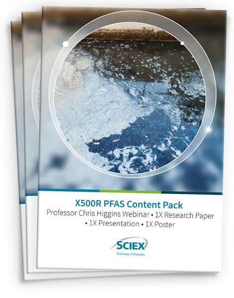 Download the X500R QTOF PFAS content pack