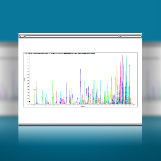 1 次分析可检测数百种化合物
