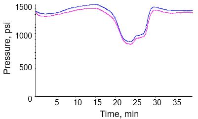 Long Term Nanoflow Electrode Robustness